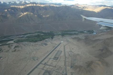 Zen Inspired landing strip at leh airport picture of leh ladakh