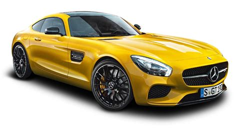 car mercedes png yellow mercedes amg gt car png image pngpix