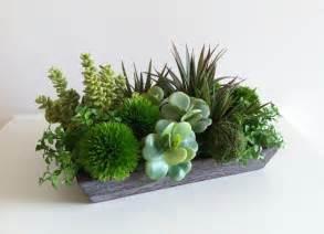 Artificial Plants For Interior Decoration Modern Succulent Arrangement