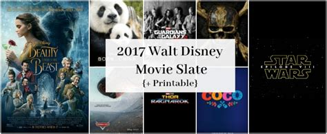 disney film slate 2017 printable walt disney movie slate 2017 mom on the side