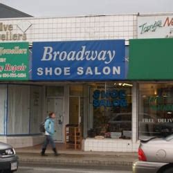 broadway shoe salon shoe shops kitsilano vancouver