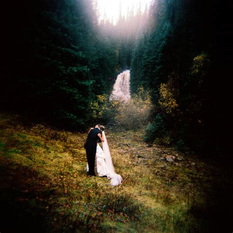 Ginna & Mark   Dunton Hot Spring, CO: Featured Weddings
