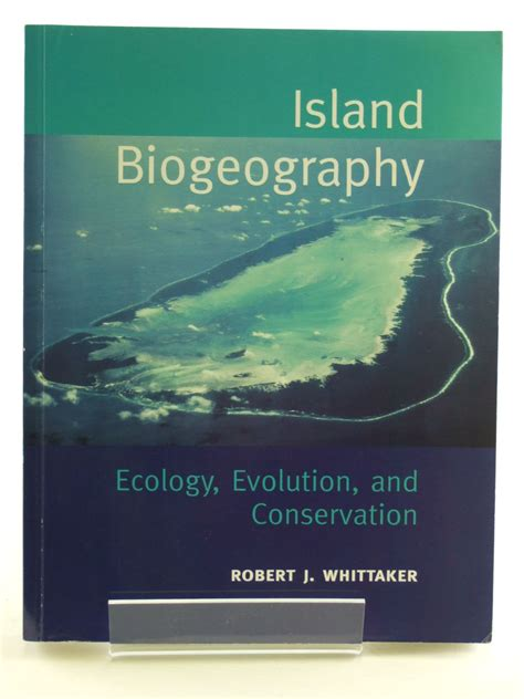 environmentalism an evolutionary approach books island biogeography ecology evolution and conservation