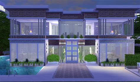 modern house blog my sims 4 blog modern house no 2 by moni