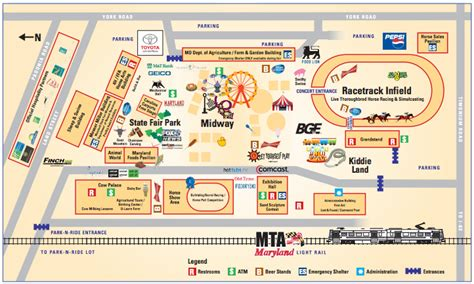 maryland fairgrounds map maryland state fair 2016 hours tickets parking events