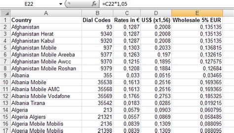 csv wrong format importing tariffs from csv with wrong regional settings