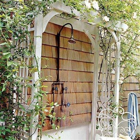 diy outdoor showers 30 cool outdoor showers to spice up your backyard