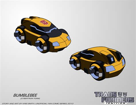 tf ignition bumblebee cybertron vehicle mode by krissmithdw on deviantart