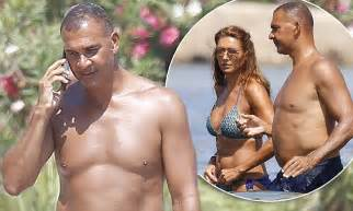 ruud gullit cuts   relaxed figure  ibiza daily