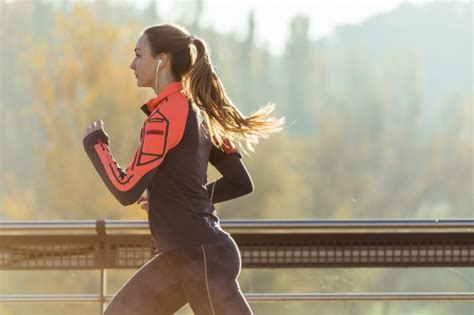 commercial girl running fit girl running outdoors photo free download