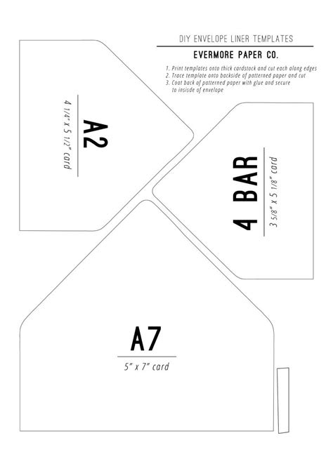 40 Free Envelope Templates Word Pdf Template Lab Microsoft Word A7 Envelope Template