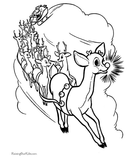 free printable christmas coloring pages rudolph free christmas reindeer coloring pictures rudolph