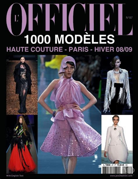 Magazine List Couture In The City Fashion Couture In The City 2 by Cover Of L Officiel 1000 Modele Haute Couture November