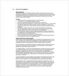 retail business plan template free retail business plan template 13 free word excel pdf