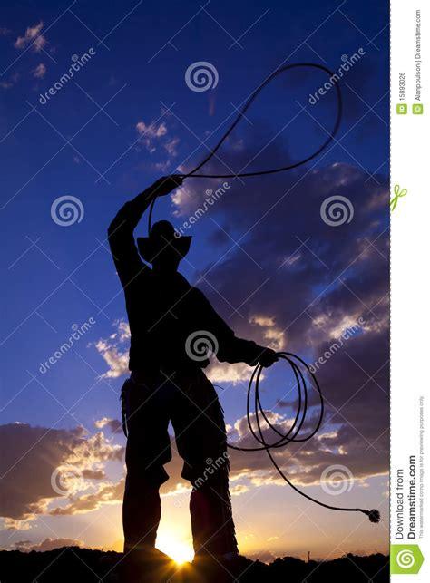 cowboy swing cowboy swing rope royalty free stock image image 15893026