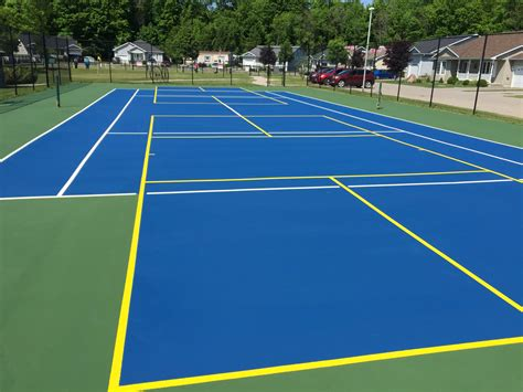 How To Search For A Court Do Pickeball Lines On Tennis Courts Bother You Talk Tennis