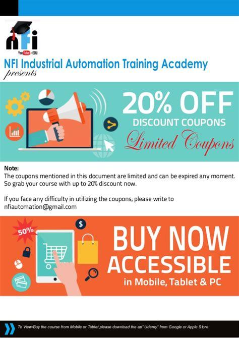 Buy 1 Get 1 Promo Apple Learning Qu Ran nfi plc hmi scada ac drives course coupons