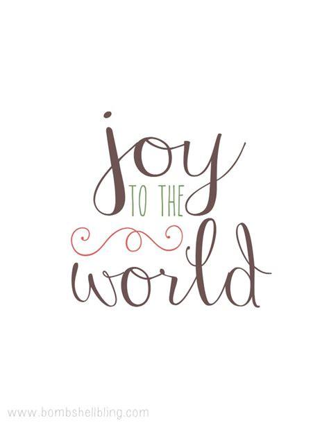 printable version of joy to the world free joy to the world printable