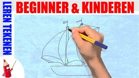 zeilboot voor beginners zeilboot tekenen in 120s leren tekenen voor beginners en