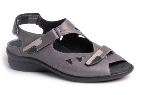 Sandal Merk Fladeo Uk 37 39 durea sandaal klittenband grijs huisman schoenmode