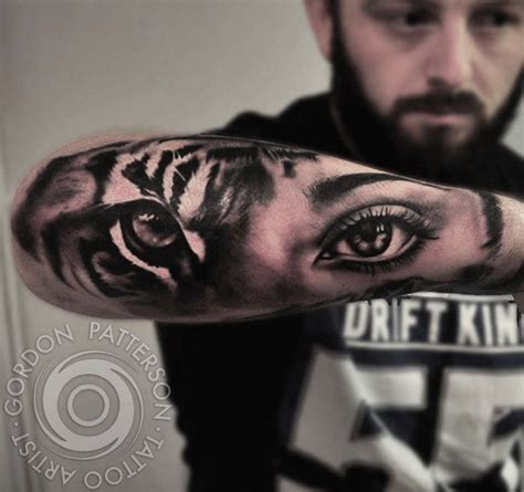 tiger eyes tattoo inkstylemag