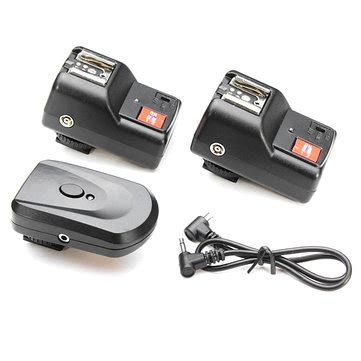 Micnova Wireless Flash Trigger Receiver Ft N R pt 4gy wireless 4 channel flash trigger with 2 receiver for nikon sale banggood sold out