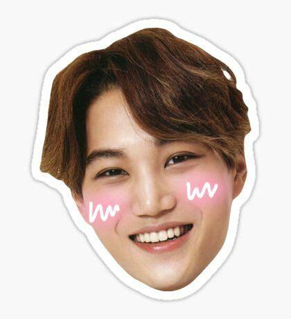Exo Chanyeol Cheeks Sticker 28 best exo sticker images on stickers decals and sticker