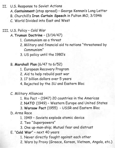 Cold War Worksheets by Cold War Arms Race Timeline Www Imgkid The Image