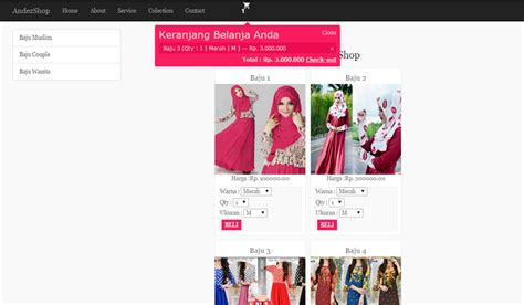 tutorial membuat online shop dengan wordpress membuat shopping cart dengan php ajax jquery bootstrap