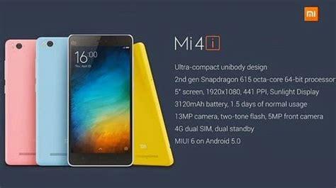 Hp Samsung Android Versi 4 xiaomi mi 4i hp android versi murah mi 4 jelajah info