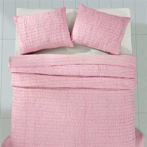 90 x 90 comforter rochelle pale pink queen bedding set quilt 90 quot x 90 quot 2