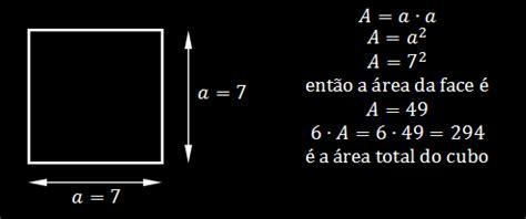 calcular a area da superficie de um cubo quest 245 es de vestibular na net quest 245 es de vestibulares