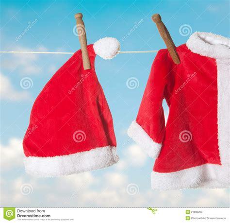 santa jacket and hat hat and jacket for santa stock photos image 21696263