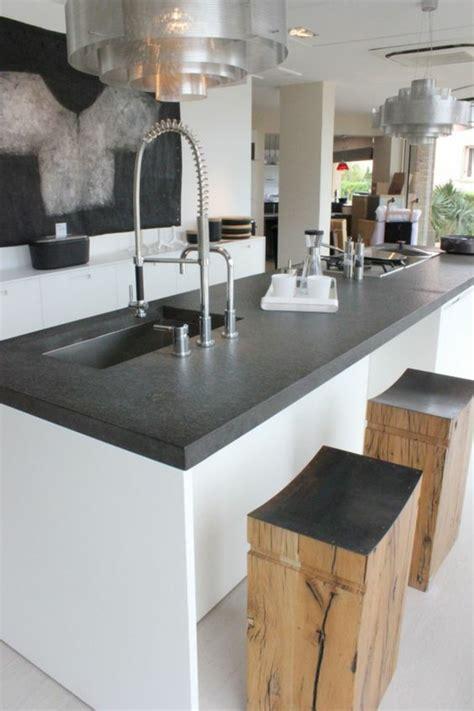 Küchenarbeitsplatte Ikea by K 252 Chengestaltung K 252 Cheninsel Rustikale Holzhocker