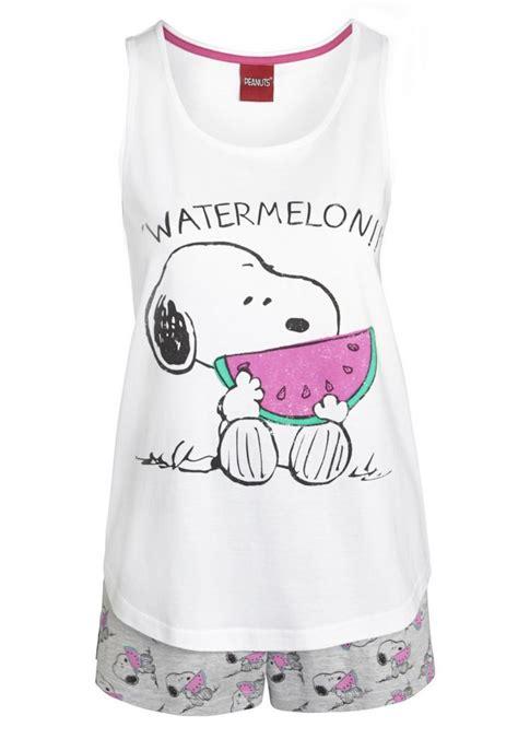 clothing at tesco snoopy watermelon print shorts pyjamas gt nightwear gt new in gt pj s