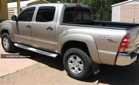 2008 toyota tacoma 4 0l v6 4wd 4 door cab and
