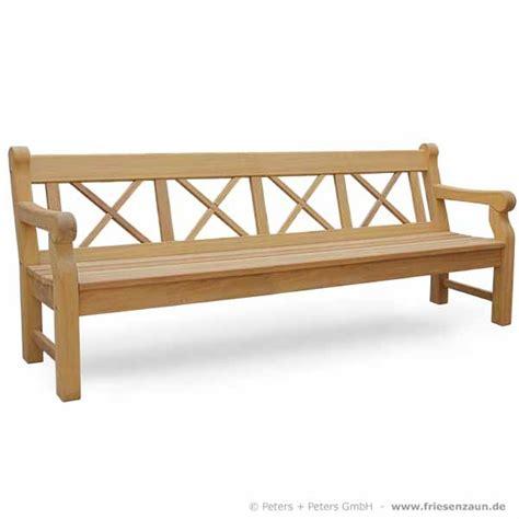 Gartenbank Holz 4 Sitzer by Friesenbank Shop 4er Holzbank Hton Made In Germany