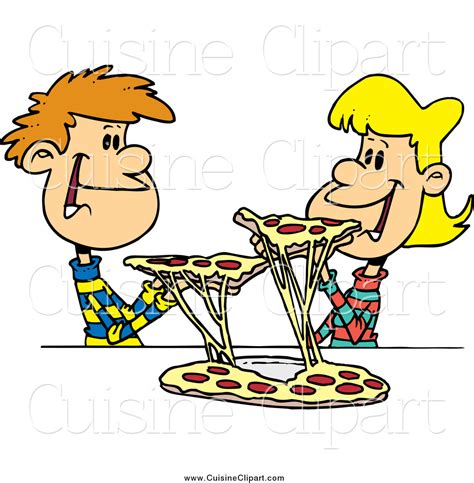 clipart cuisine cuisine clipart of a pizza by