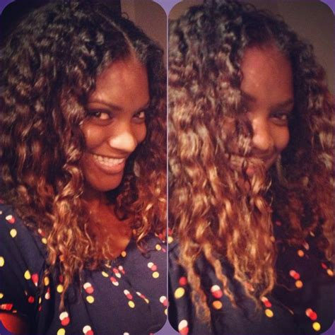 ombre hair color fro african american women my natural hair with a twist out ombr 233 color african