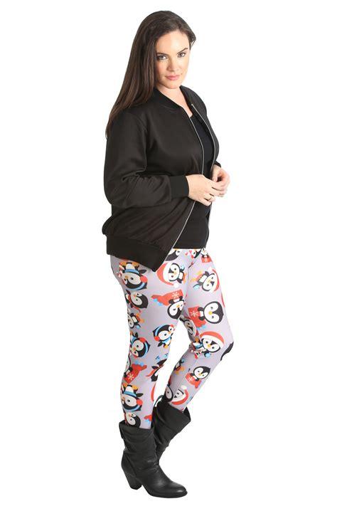 Penguin Sweater Legging new plus size womend penguin winter nouvelle ebay
