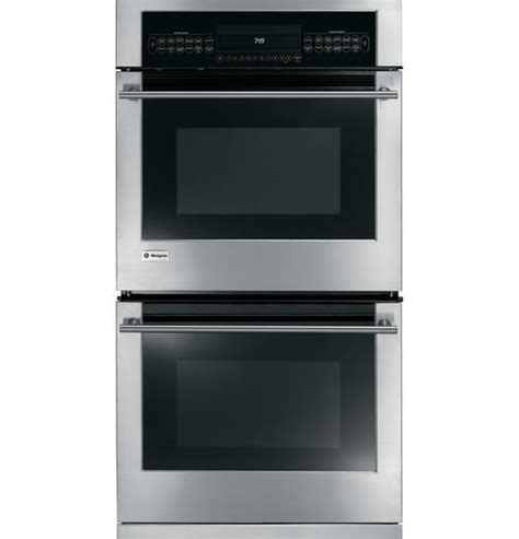 ge monogram kitchen appliances zek958smss ge monogram 174 27 quot built in electric double