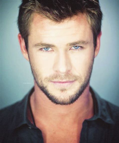 hot actor with blue eyes hot actor blue eyes chris hemsworth image 748640 on