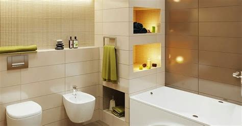 Bathroom Color Schemes Beige by Small Bathroom Design In Beige And Brown Color Scheme