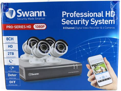 swann dvr8 4550 8 channel hd security kit review