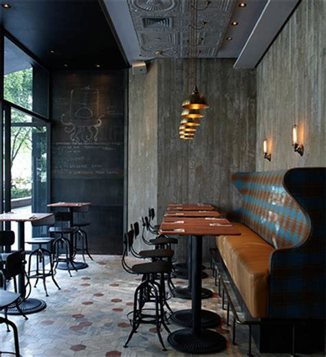 Bistro Interior Design by Rustic Pizzeria Bar In Shanghai Commercial Interior Design News Mindful Design Consulting