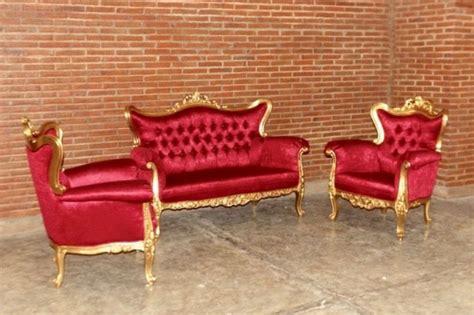Meisya Set by Barock Sofa Garnitur Meisya Set 3 1 1 Belegt Mit