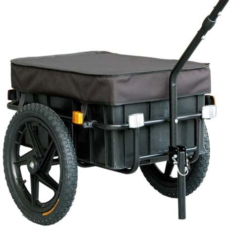bike cargo trailer luggage shopping bicycle trailer