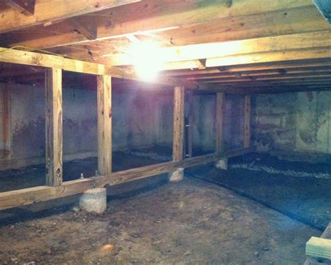 raised floor systems for basements connecticut basement systems crawl space repair photo album crawl space repair and renovation
