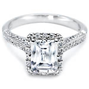 engagement rings gorgeous tacori emerald engagement rings have your dream wedding