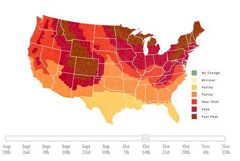 carolina fall foliage map climate and agriculture in the southeast fall foliage